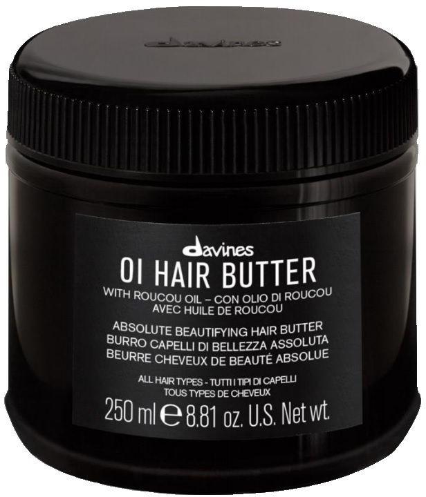 Davines OI HAIR BUTTER - silnie odżywiające masło do każdego rodzaju włosów 250ml
