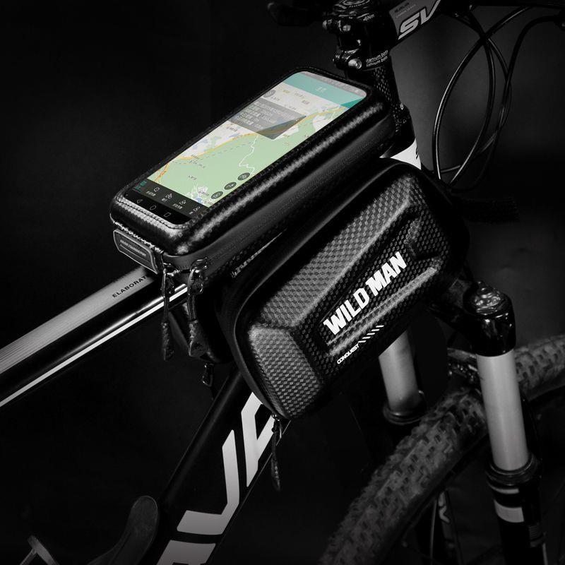 WILDMAN Sakwa do roweru WILDMAN HARDPOUCH BIKE MOUNT XL czarna 13329