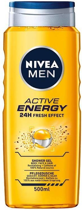 Nivea Men Active Energy żel pod prysznic 500ml 94567-uniw
