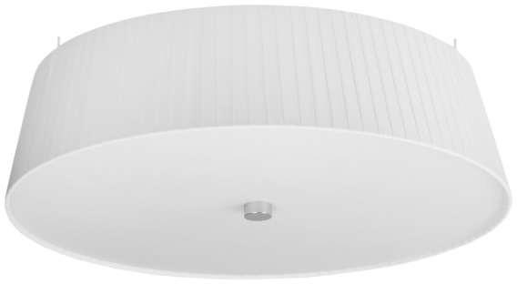 Sotto Luce LAMPA sufitowa KAMI ELEMENTARY L 1/C/WHITE abażurowa OPRAWA plisowana PLAFON okrągły biały KAMI ELEMENT L 1/C/WHITE