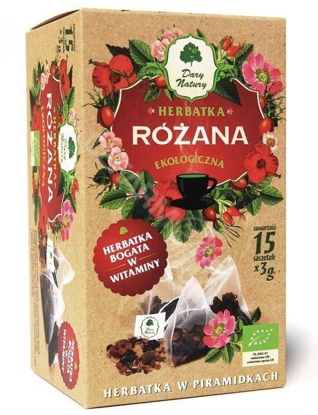 Dary Natury herbatka różana EKO x 15 sasz | DARMOWA DOSTAWA OD 149 PLN!