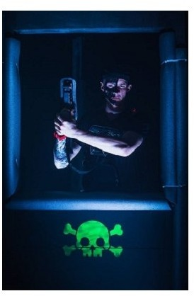 Gra w laserowy paintball  Starogard Gdański P0005763