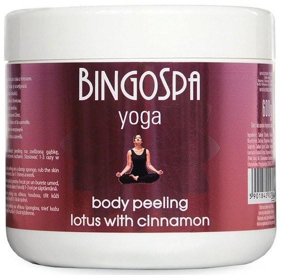 BingoSpa Yoga Cynamonowy peeling do ciała z lotosem 600g 1234586314
