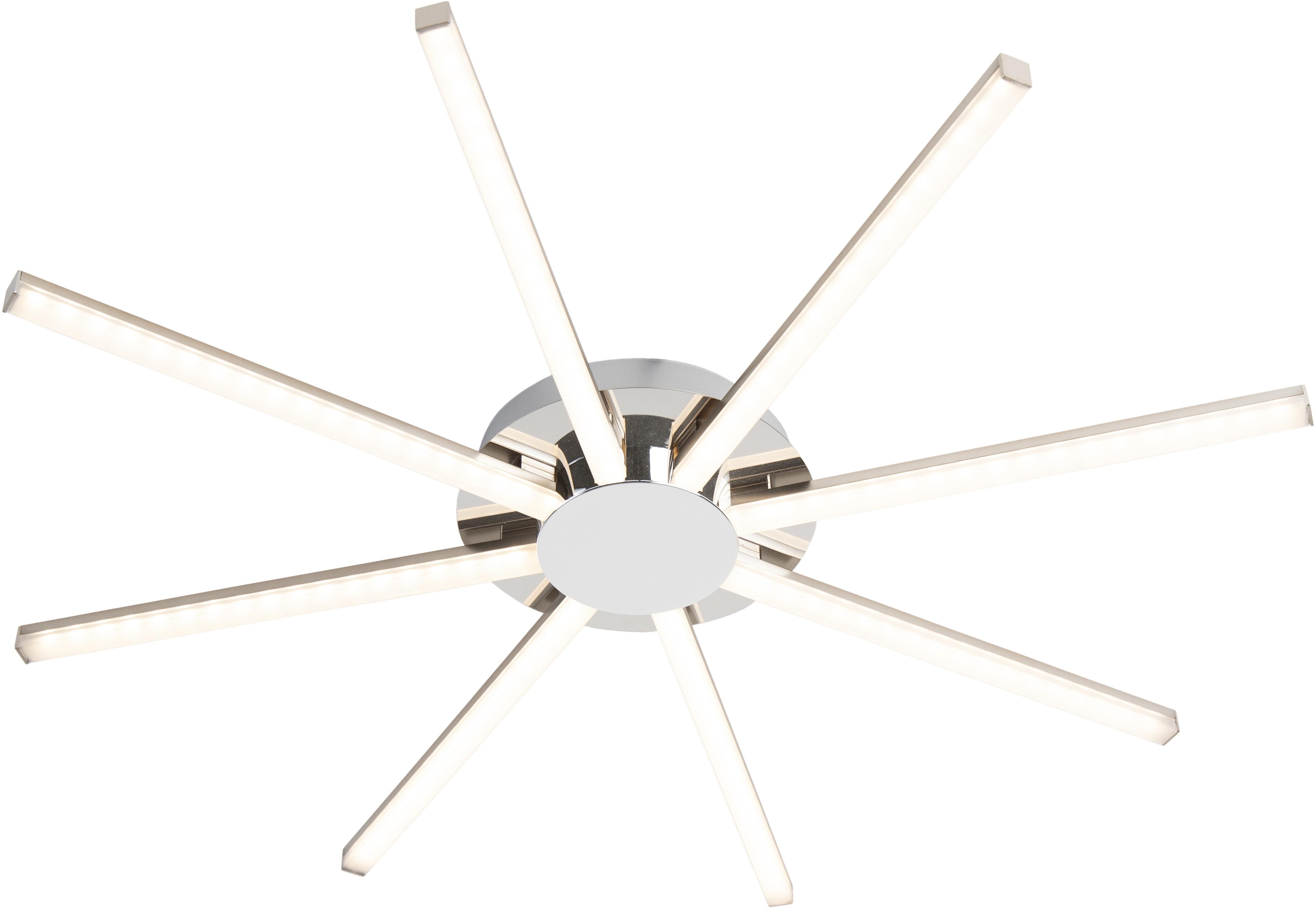 Leuchten Direct Designerski plafon stal zawiera LED - Simona otto