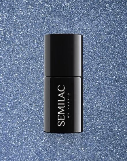 Semilac Semilac Platinum Silver Blue 255 ZE0507255