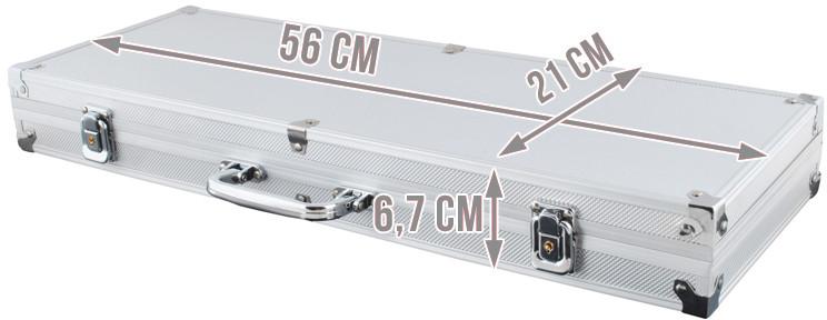 Vita Zestaw 500 żetonów w aluminowej walizce