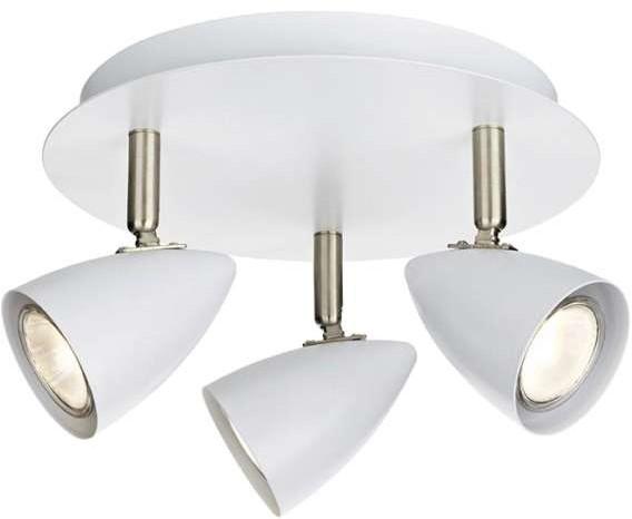 Markslojd Plafon LAMPA sufitowa CIRO 107412 natynkowa OPRAWA okrągła reflektorki białe 107412
