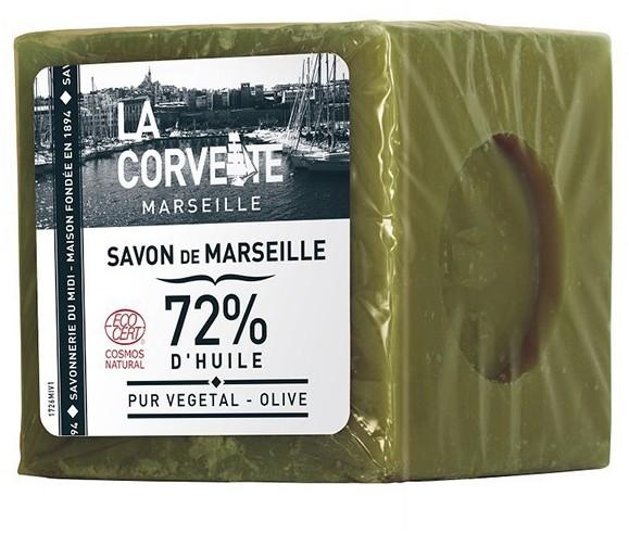 LA CORVETTE MYDŁO MARSYLSKIE OLIWKA 300 g - LA CORVETTE