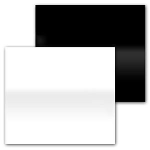 Powerlux Podstawka akrylowa 33x33cm czarna