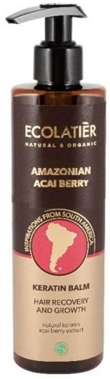 Ecolab Ec Laboratorie Ec Laboratorie AMAZONIAN ACAI BERRY Keratynowy balsam do włosów Regeneracja i wzrost 250ml