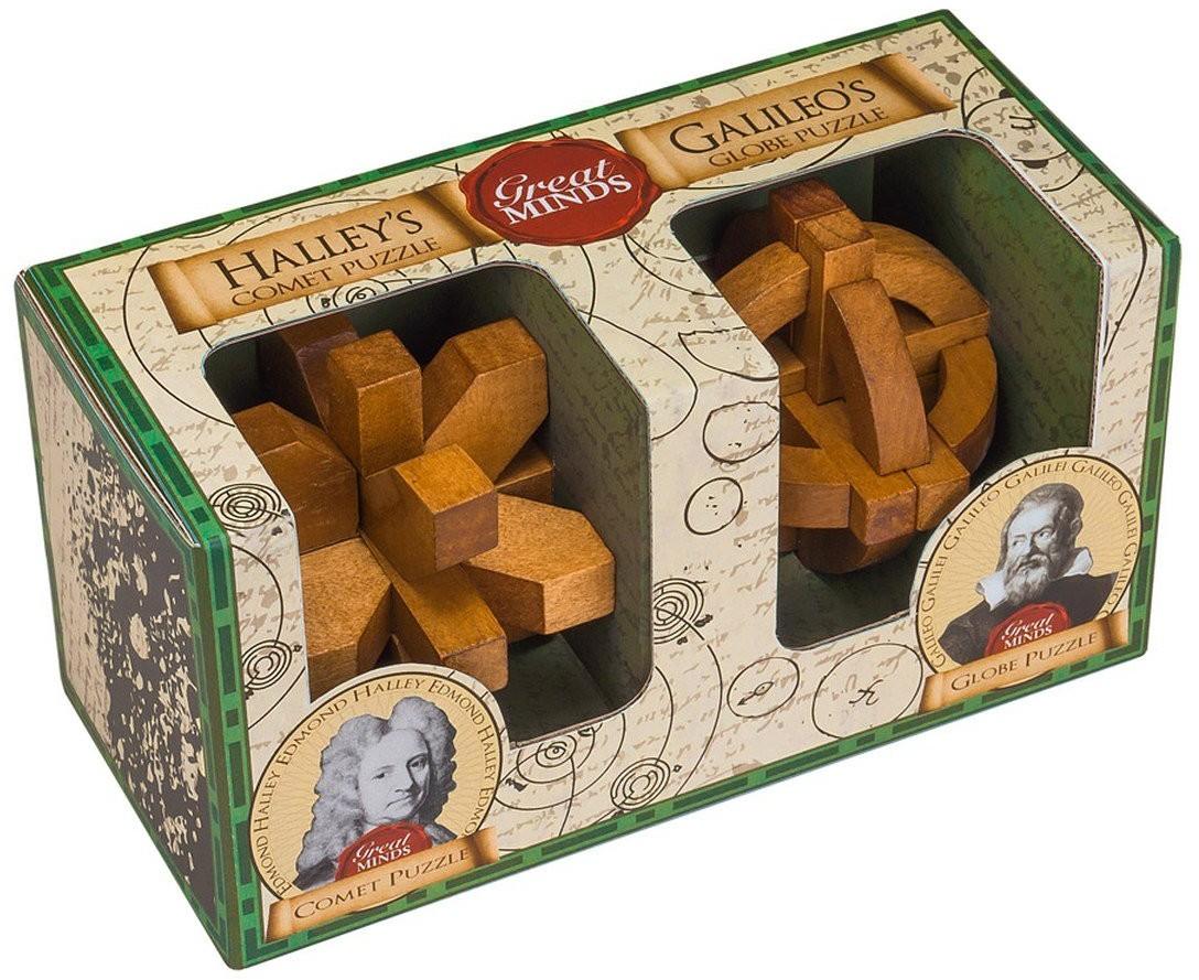 Professor Puzzle Great Minds, łamigłówka Halley and Galileo, 2 szt.