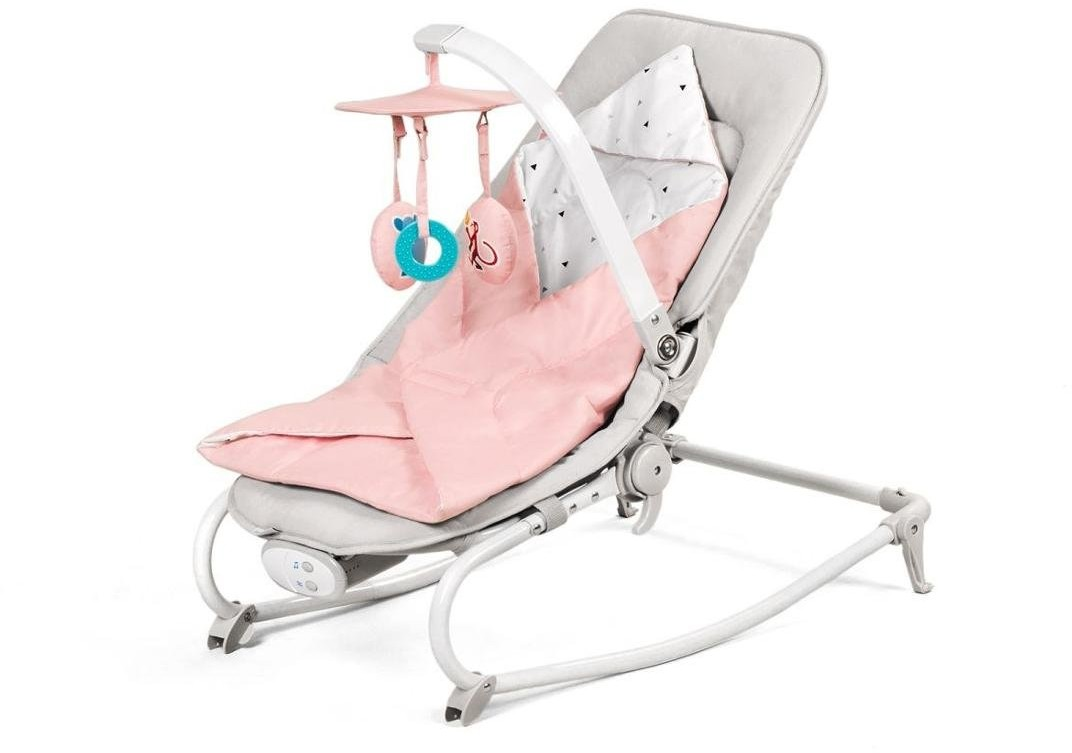 KinderKraft 4Kraft Wielofunkcyjny leżaczek, Felio, Pink