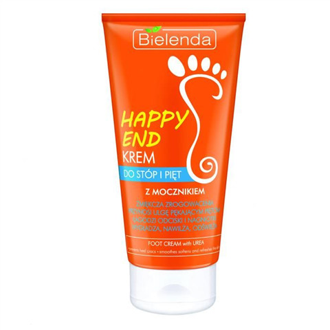 Bielenda Happy End krem do stóp i pięt z mocznikiem 125ml 46301-uniw