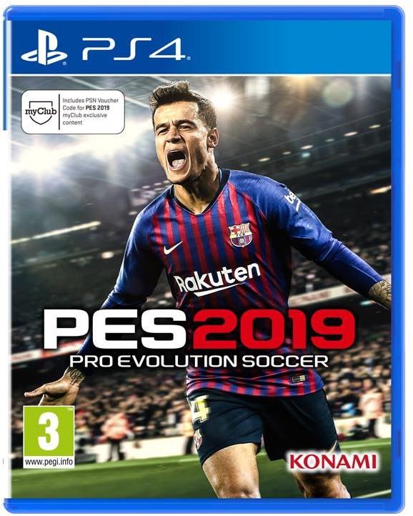 Pro Evolution Soccer 2019 Standard Edition (GRA PS4)