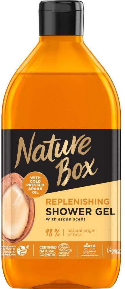 NATURE BOX Replenishing Shower Gel odżywczy żel pod prysznic z olejkiem arganowym 385ml 96262-uniw