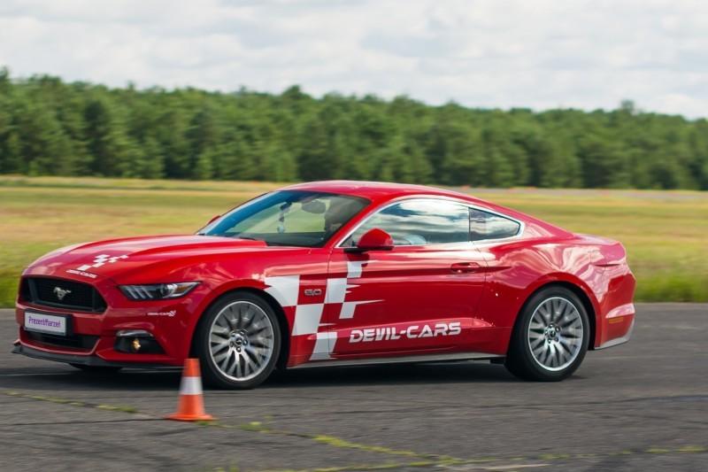 go racing Ford Mustang vs. KTM X-BOW : Ilość okrążeń - 4, Tor - Tor Białystok, Usiądziesz jako - Kierowca