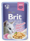 Brit Premium Kot Premium with Chicken Fillets for Adult Cats JELLY 85g