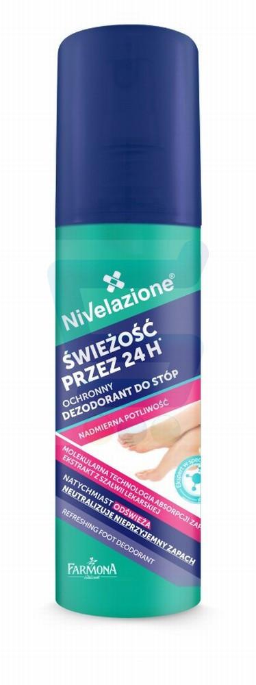 Nivelazione Stopy Odświeżający dezodorant do stóp Świeżość przez 24H 125 ml