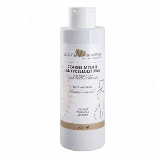 Savon Noir Beaute marrakech Naturalne czarne mydło antycellulitowe - żel pod prysznic 200ml 2953-5659C