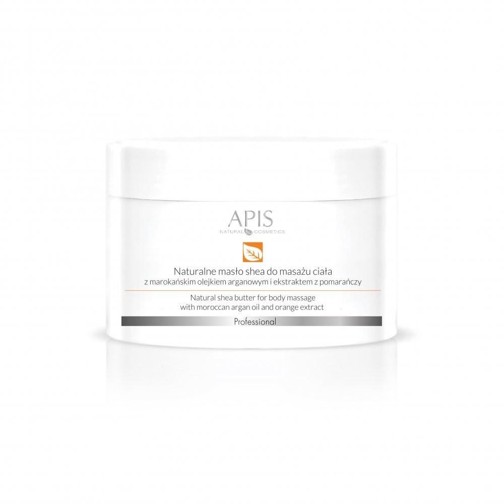 APIS Professional APIS Orange Terapis Naturalne Masło Shea Z Marokańskim Olejkiem Arganowym Do Masażu Ciała 200g 10002_20854