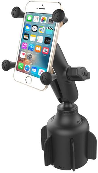 Apple Uniwersalny uchwyt X-Grip montowany w otwór na napoje do iPhone 7 & 8 (RAP-B-299-4-UN7Uip78)