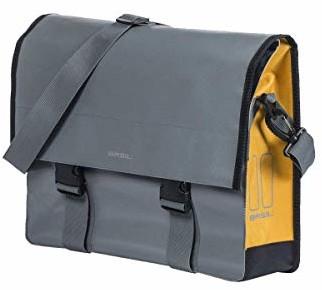 Basil torba na ramię Urban Load 39 x 11 x 43 cm 15-17 l szara złota rower (BAS17769)