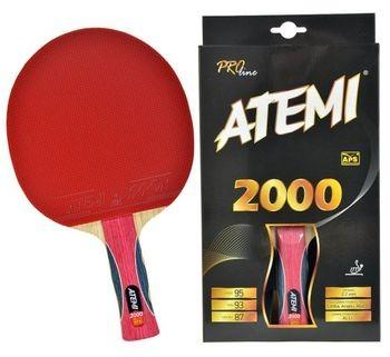 Atemi Rakietka do tenisa stołowego 2000 rączka AN anatomiczna 2000 (Atemi 2000)