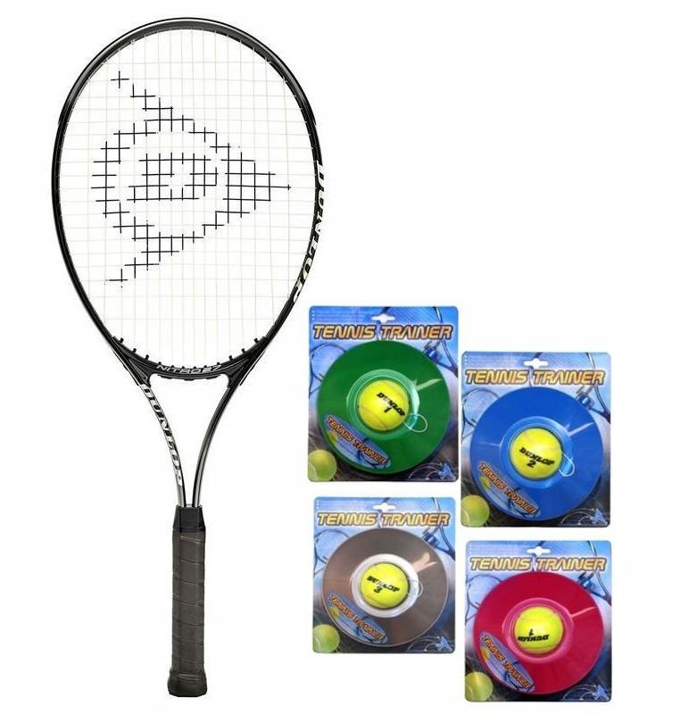 Dunlop Rakieta Tenis Nitro 27 L3 + Tennis Trainer