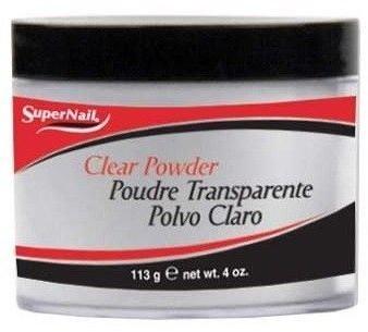 SuperNail Puder akrylowy Clear Powder przezr 113g 7728-uniw