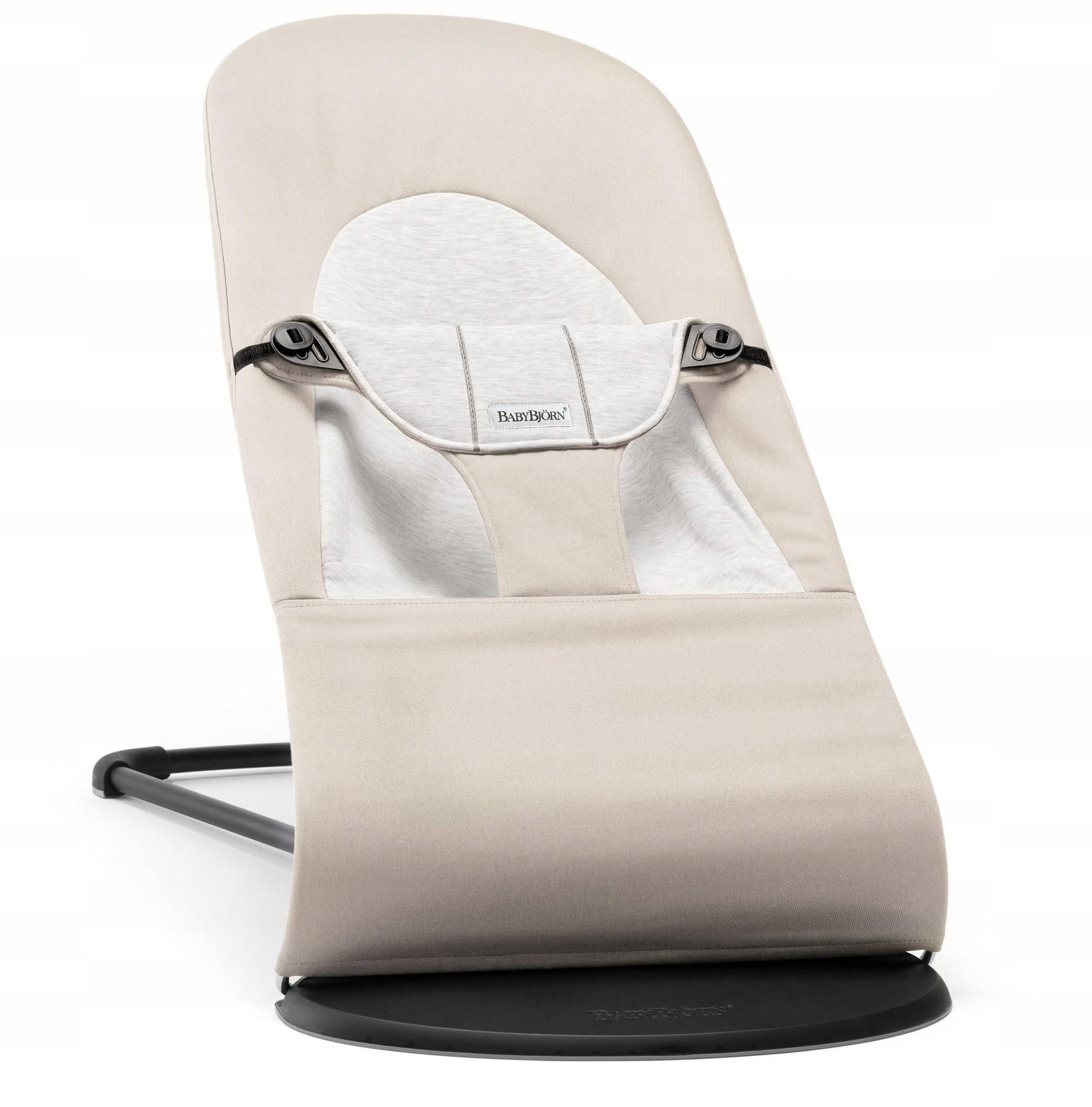 BABYBJORN leżaczek Balance Soft Beżowy / Szary