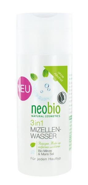 NEOBIO (kosmetyki eko) PŁYN MICELARNY DO DEMAKIJAŻU 3 W 1 EKO 150 ml - NEOBIO