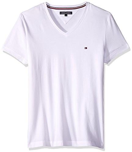 Tommy Hilfiger męski T-shirt -  s biały B07B92ZQTM