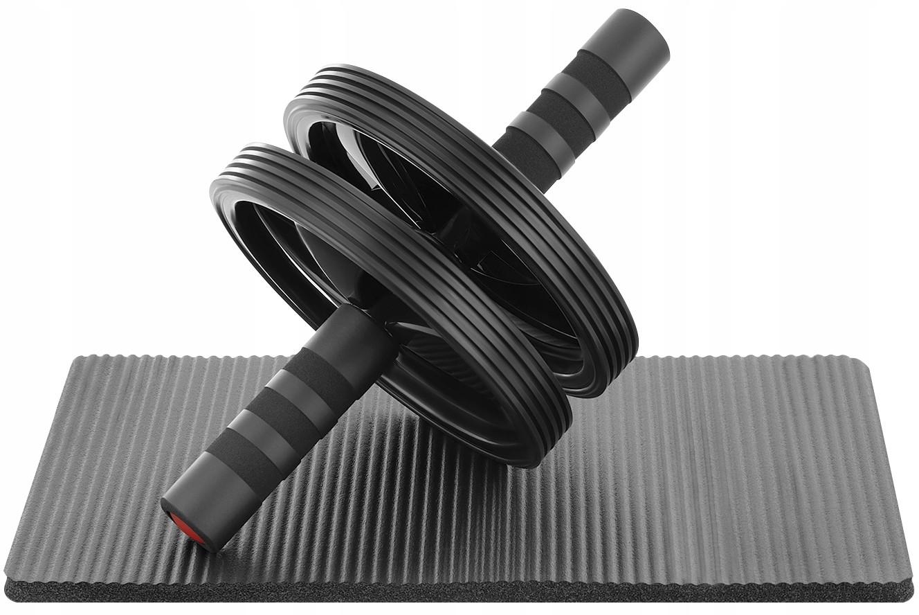 Zipro Podwójne Roller Ab do Ćwiczeń Mięśni Brzucha