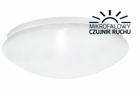 Zext Plafoniera LED z czujnikiem mikrofalowym 24W 2700K średnica 400mm C10-LC1-24W-400-MV