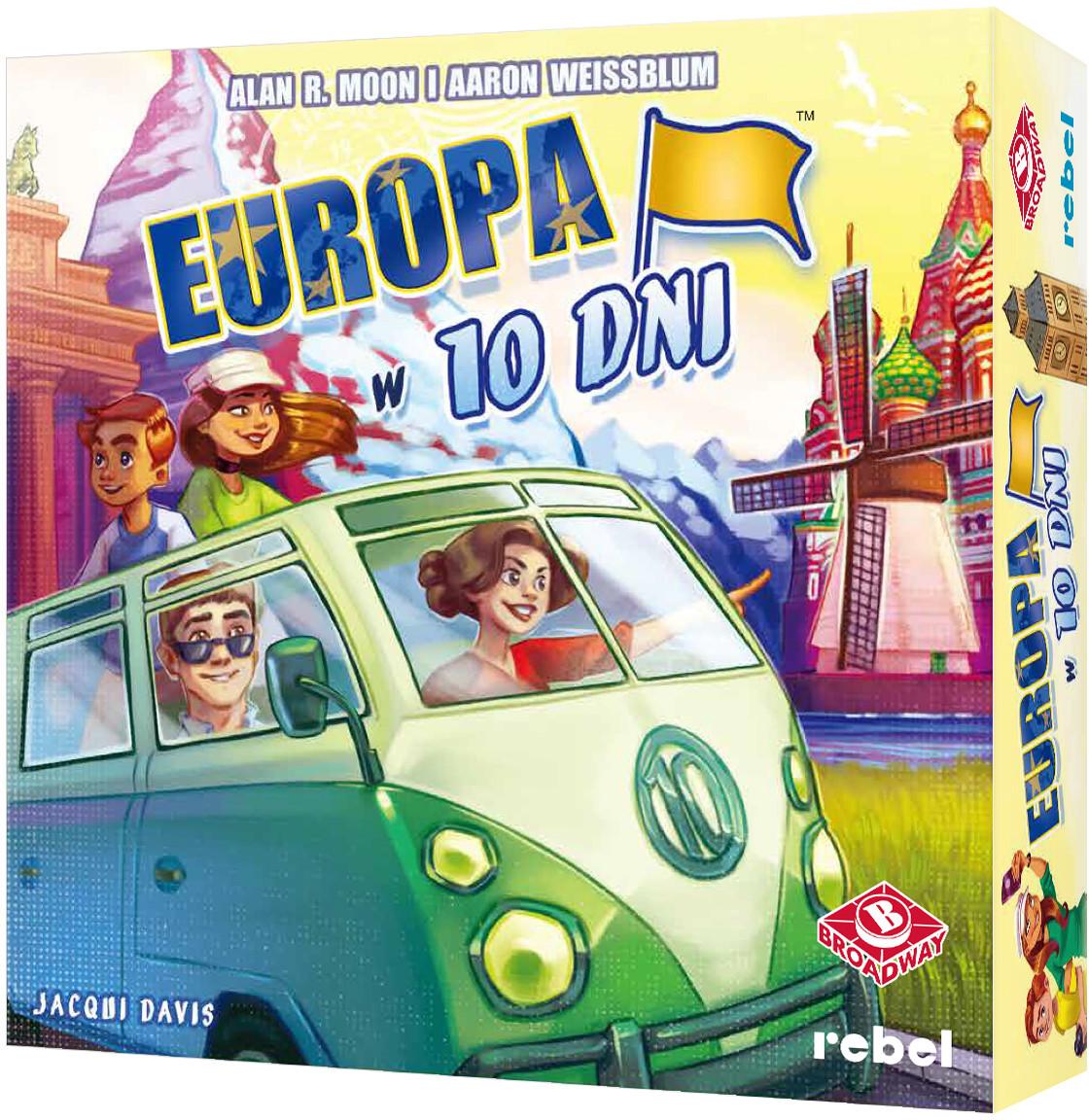 Rebel Europa w 10 dni