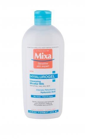 Mixa Hyalurogel Micellar Milk mleczko do demakijażu 400ml