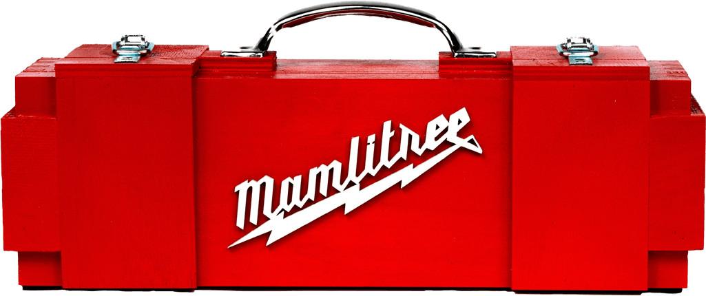MAMLITREE skrzynka na alkohol imitacja Milwaukee