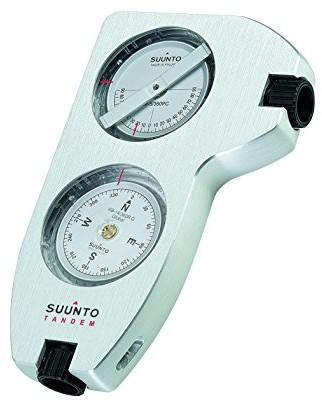 Suunto Tandem/360pc/360R G clino/Compass kompas, biały, One Size 6417084181879