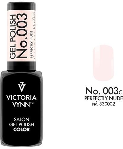 Victoria Vynn Lakier hybrydowy GEL POLISH COLOR 8 ml - Perfectly Nude 003c 330002-VICTORIA-VYNN