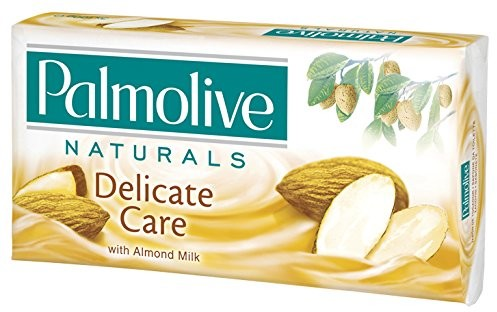 Palmolive Soap Palm Olive Delicate Care with Almond Milk 3X G3X 90G by Palm Olive 64543