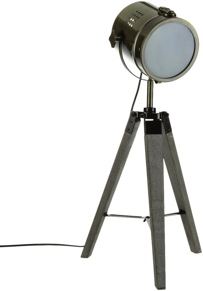 Atmosphera Créateur d'intérieur Atmosphera Créateur dintérieur Lampa reflektor z metalu w kolorze brązu designerska lampa lampa dekoracyjna lampa z metalu lampy stylowe stojące B00PDB9NUO