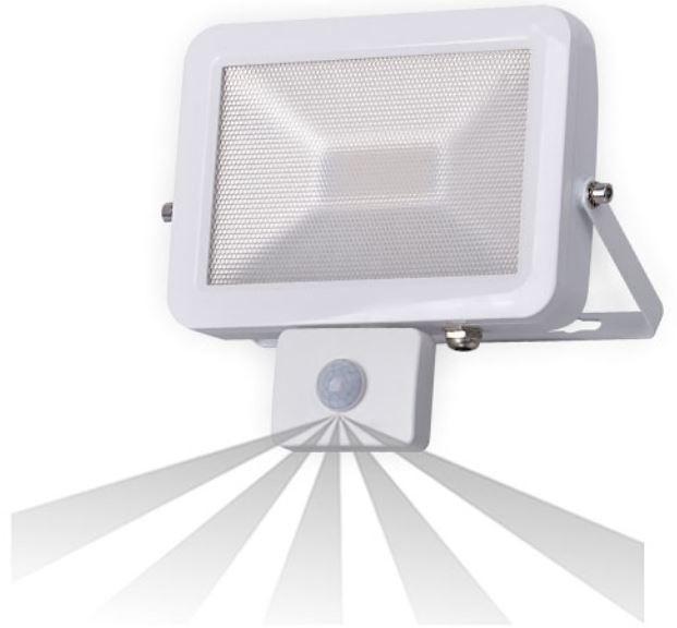 Orno Naświetlacz LED ORNO NL-392WLR5 Slim LED z czujnikiem ruchu 120 stopni Biały (30 Watt) + DARMOWY TRANSPORT!