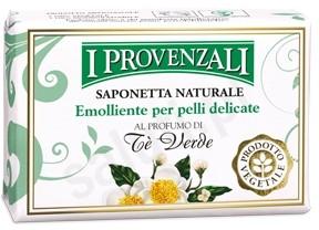 Provenzali I Provenzali Zielona Herbata - Mydło roślinne do rąk w kostce (100 g) 113A4-569D4_4566r554_20190723221716