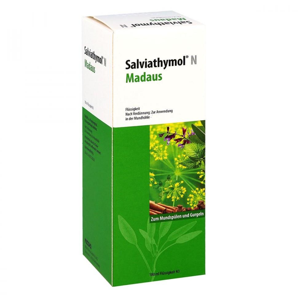 MEDA PHARMA GmbH & Co.KG Salviathymol N Madaus, krople 100 ml