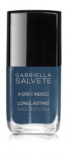 Gabriella Salvete Longlasting Enamel lakier do paznokci 11 ml 04 Grey Indigo