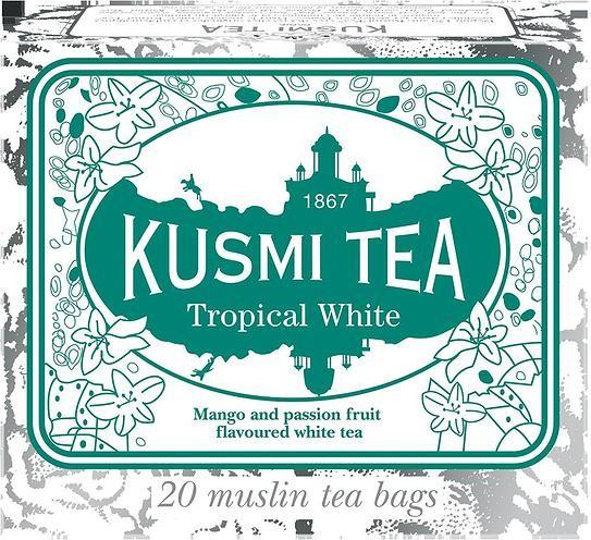 Kusmi Herbata Tropical White 20 torebek BTROP20S