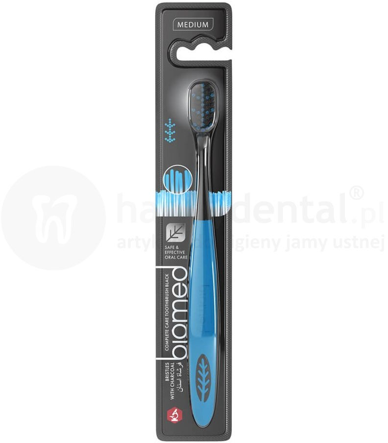 Splat Kosmetica BIOMED Carbon szczoteczka do zębów z aktywnym węglem