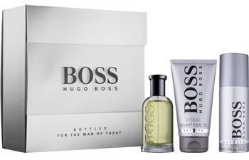 Hugo Boss Boss Bottled woda toaletowa 100 ml + żel pod prysznic 150 ml + dezodorant w sprayu 150 ml