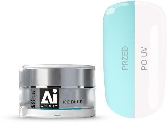 Silcare Gel Affinity średniogęsty jednofazowy żel do paznokci Ice Blue 30g
