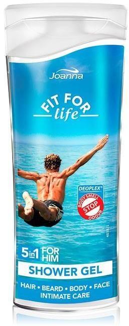Joanna Fit For Life 5in1 Shower Gel For Him żel pod prysznic 5w1 dla mężczyzn 100ml 94377-uniw